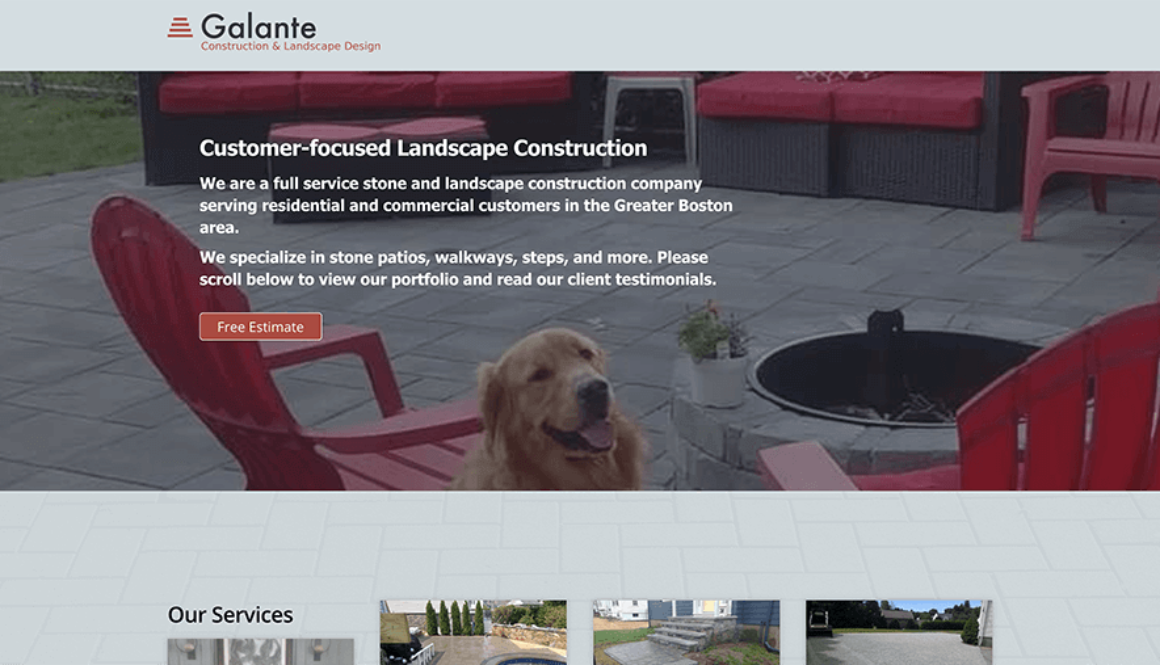 Galante Construction and Landscape Design