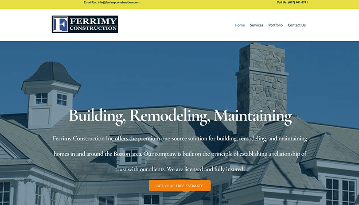 Ferrimy Construction Millis MA
