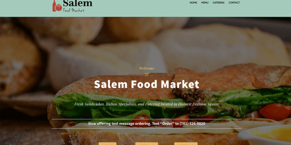 Salem Food Market Dedham MA